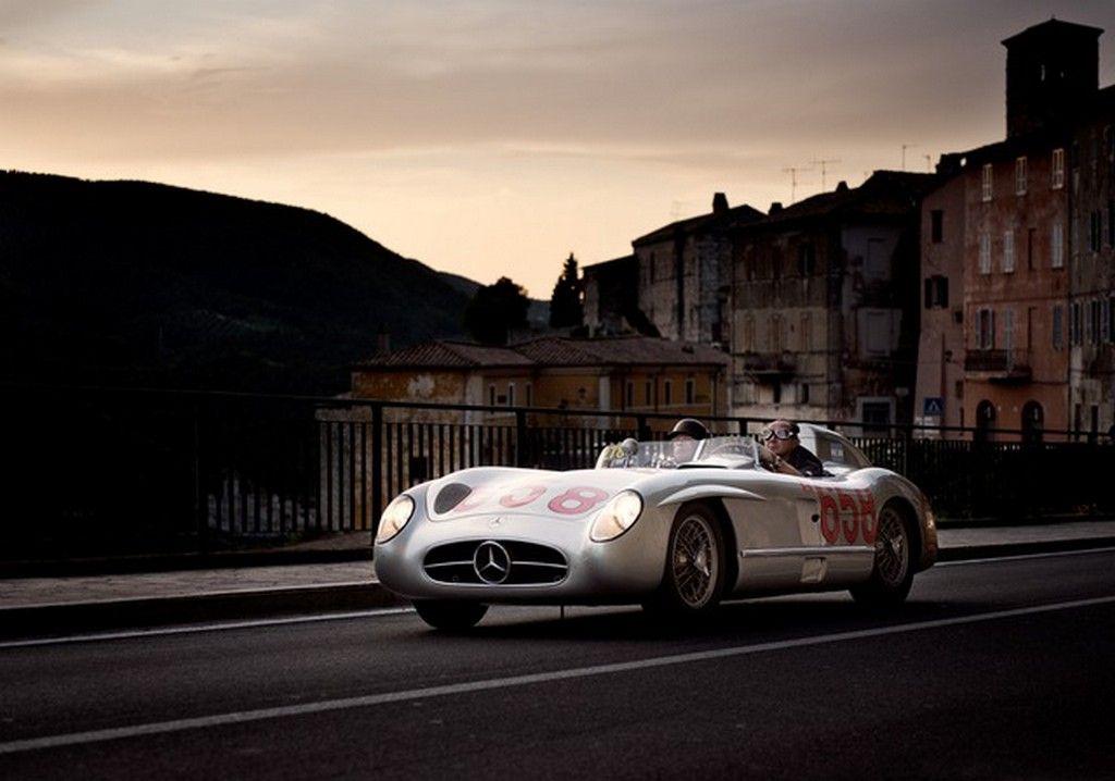 1000 Miglia 2014: Tributo Mercedes alla Gara