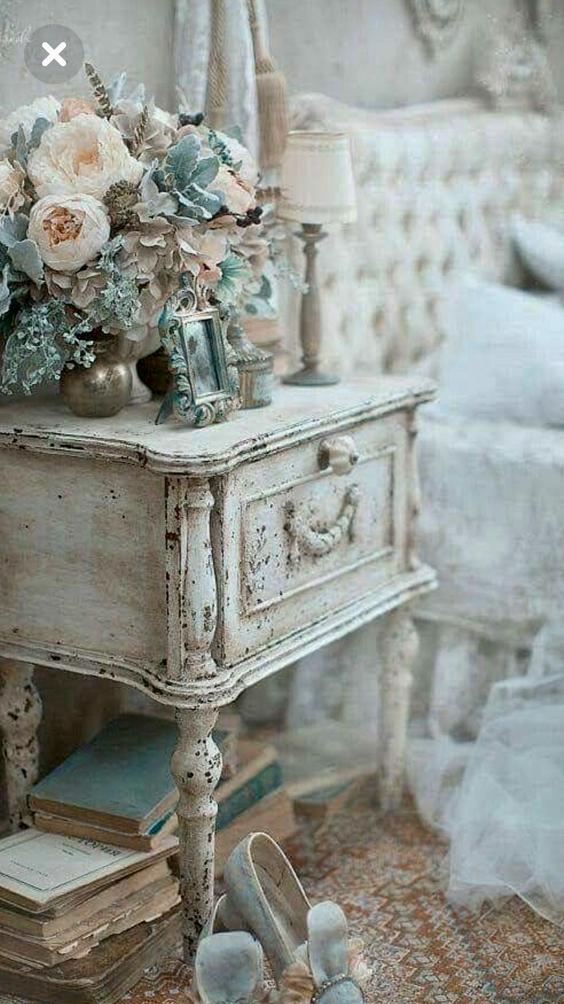 Canapé Shabby Chic pin on bedroom
