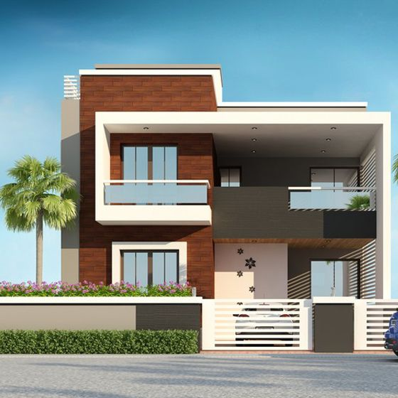 Nisarg rachna building elevation front house independent architecture also qavi in pinterest design and rh