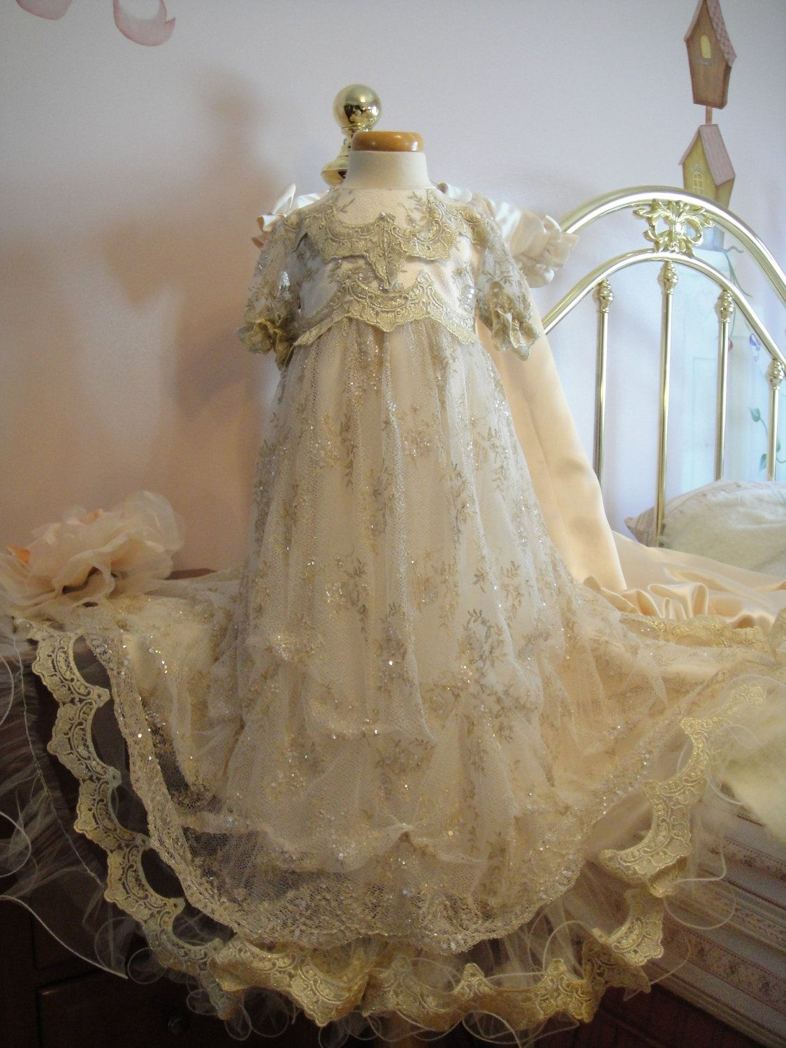 Amazing Heirloom Baptism Gowns Inspiration - Wedding and flowers ...