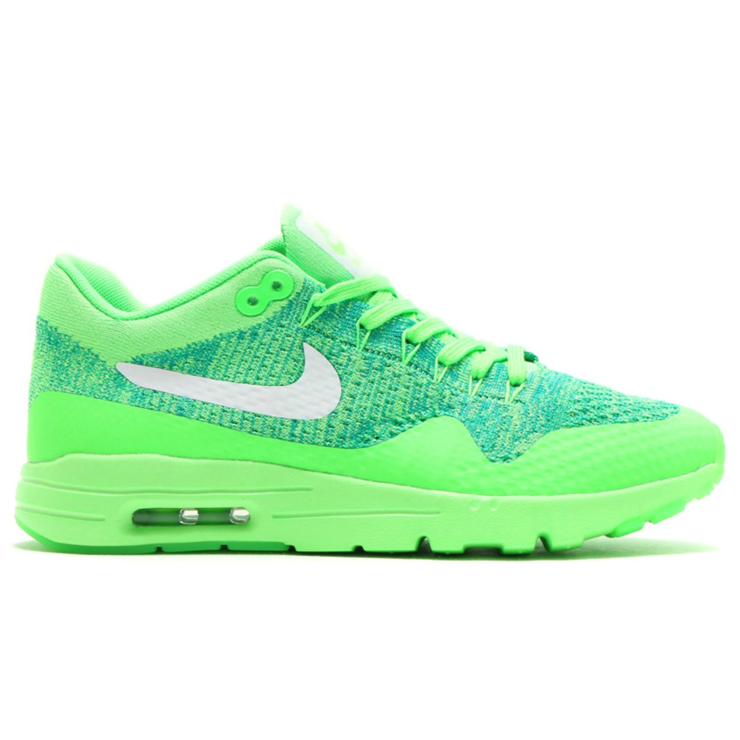 6de3cebf527b Nike Womens Air Max 1 Ultra Flyknit Running Trainers 843387 Sneakers Shoes  (US 10