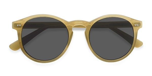 6e87d3507f0 Decadent Yellow Acetate Sunglasses from EyeBuyDirect. Exceptional style and  quality at a great price with