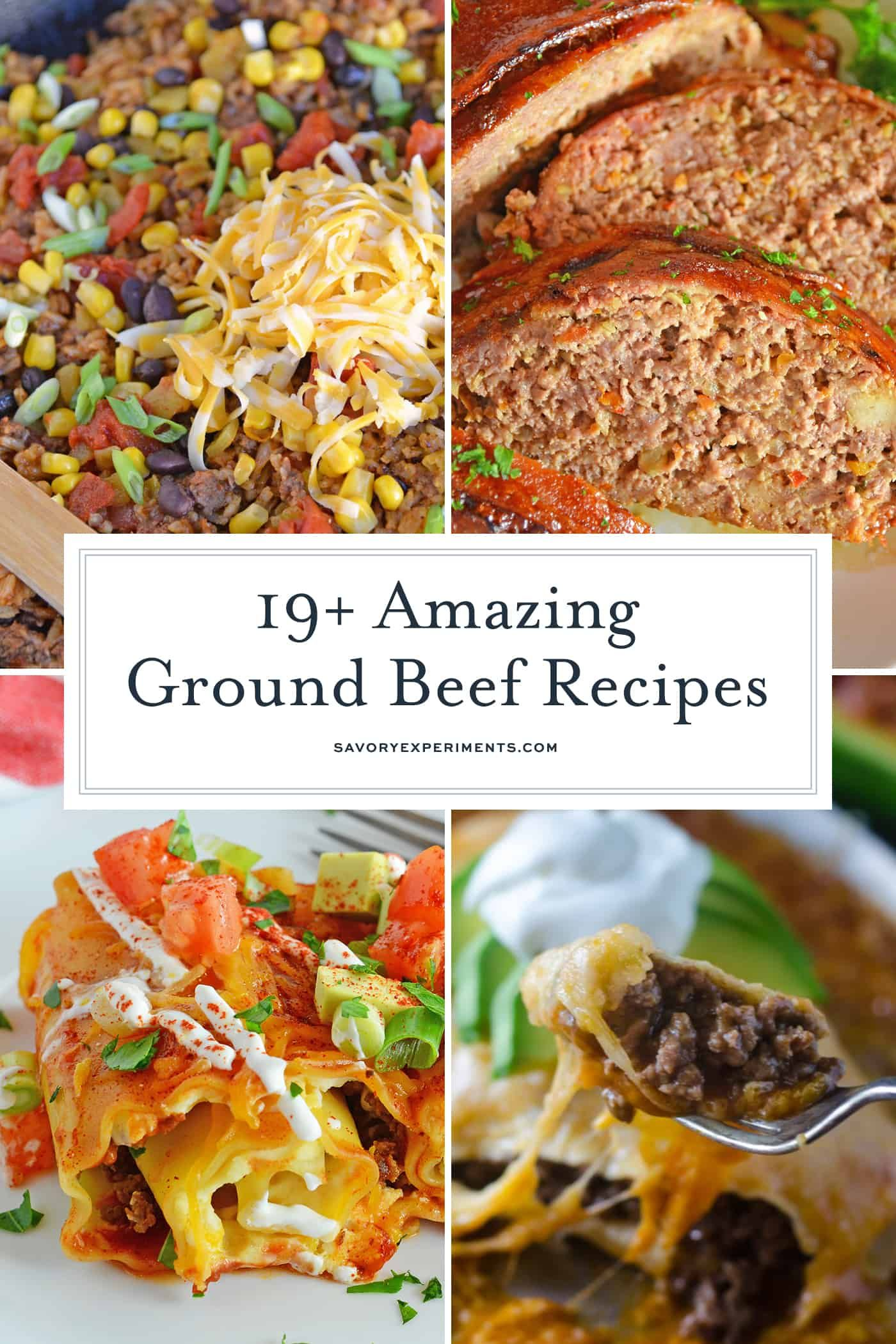 This Collection Of Easy Ground Beef Recipes Provides A Cheap Solution For Dinner Fr Best Ground Beef Recipes Recipes Using Ground Beef Beef Recipes For Dinner