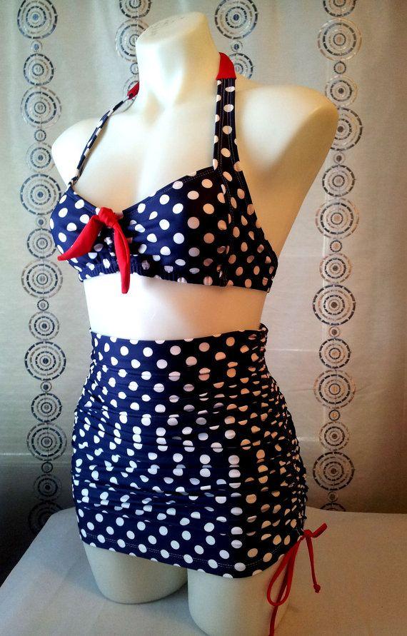 71067e22606c2 Cute plus size bikini retro | Style | Fashion, Plus size bikini, Bikinis