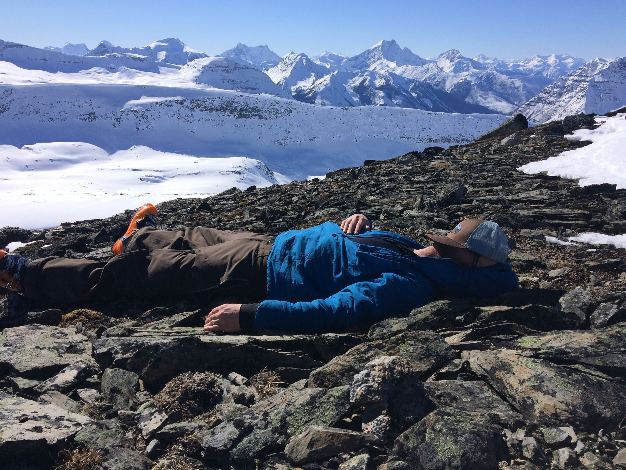 Some days are tougher than others. This clearly was not one of those days. Happy Friday!   #mountainlife #canadianadventurecompany #naptime