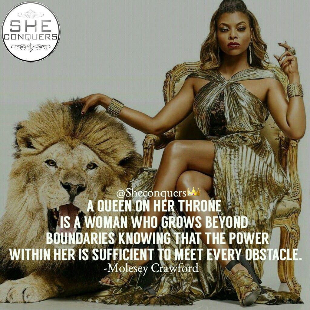 Queen On Her Throne Queen Goaldigger Hustle Grind
