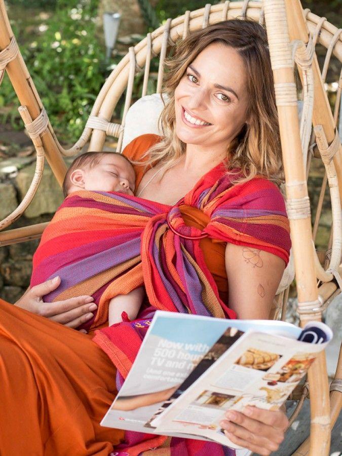 The Ring Sling Organic Cotton Mesh Carrier Aswathi Pinterest
