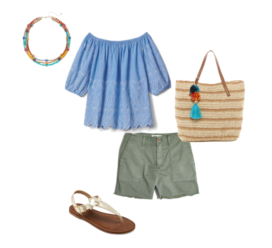Ten Day Summer Vacation Packing List + Outfits #summervacationstyle