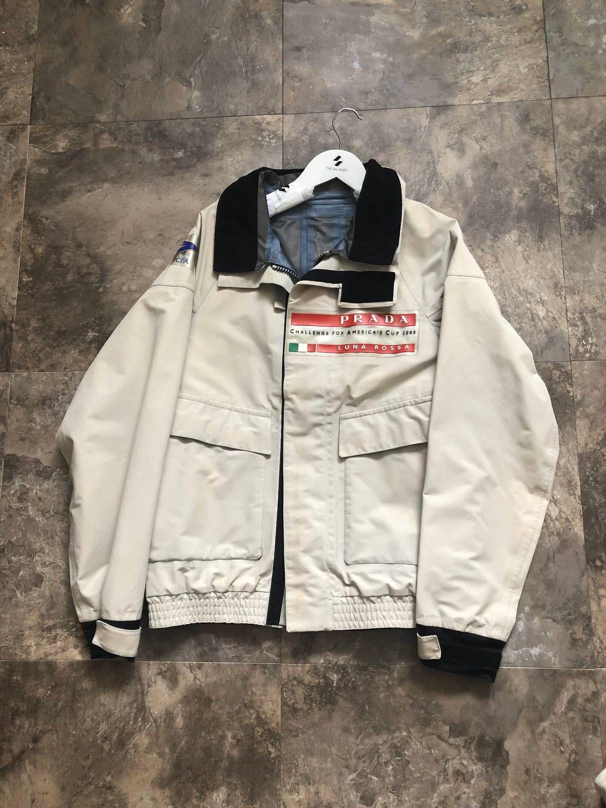 Prada Prada Luna Rossa Jacket Jackets Prada Edgy Fashion [ 1600 x 1200 Pixel ]
