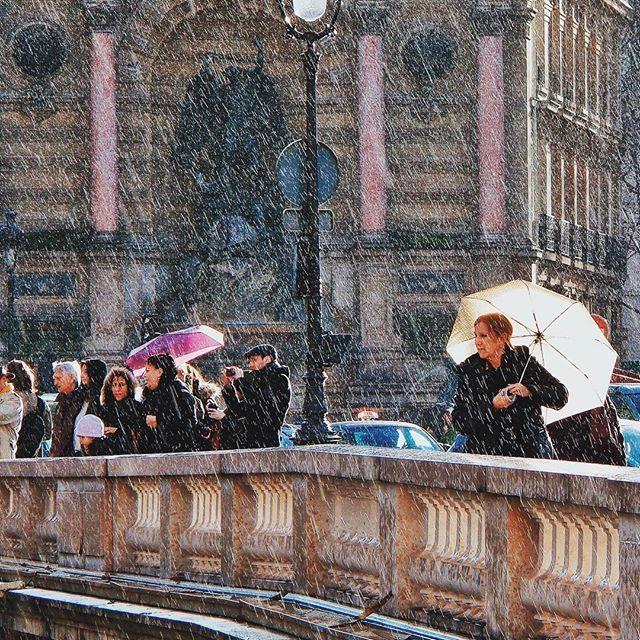 PARIS. Rainy day☔️ #Paris #Fujifilm