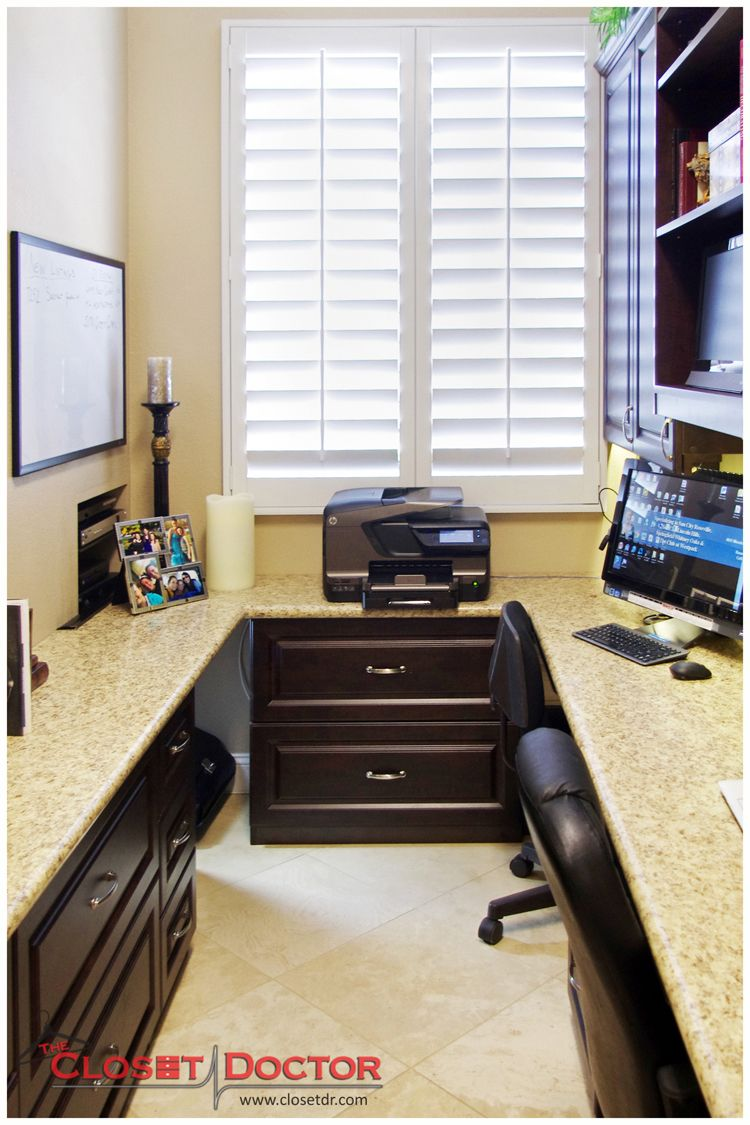 Roseville Laundry Room To Small Home Office Conversion By The Closet Doctor