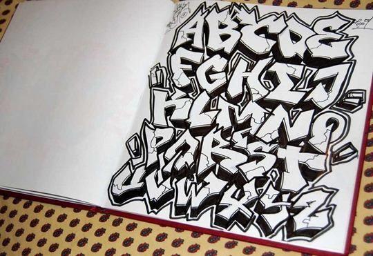 Graffiti Letters. | Drawing Tips | Pinterest | Graffiti ...