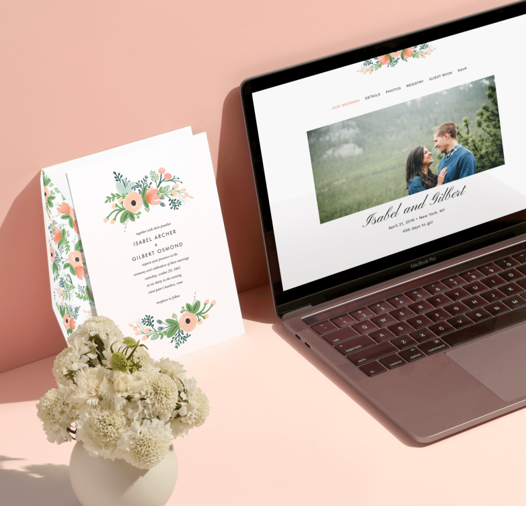 Introducing free wedding websites that match your