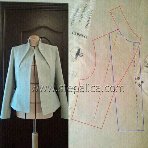 Patron de couture veste femme