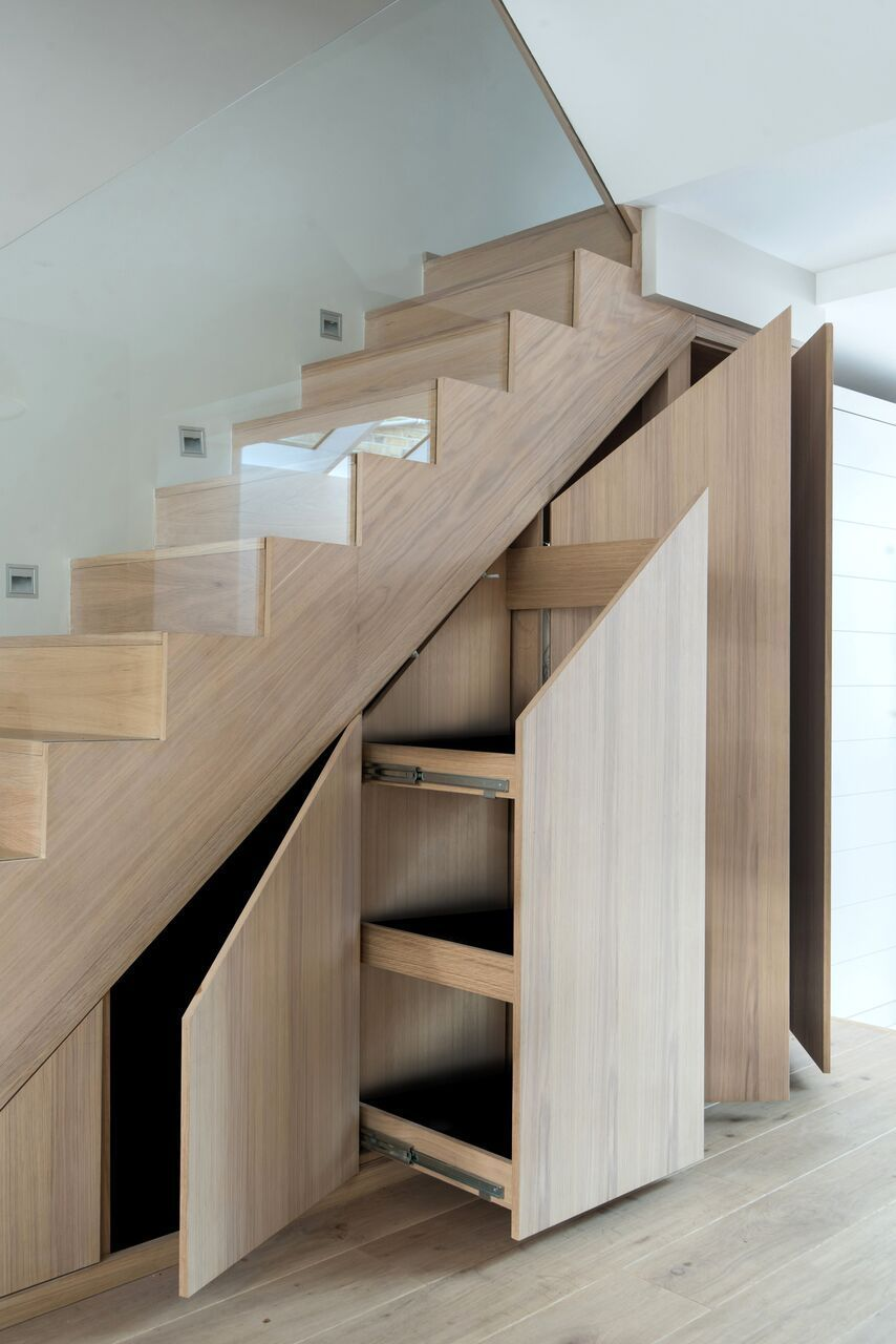 10 Creative Ways to Use the Space Under the Stairs