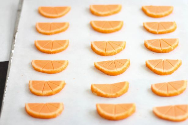 Sunny Citrus Slice-and-Bake Cookies #sliceandbakecookies