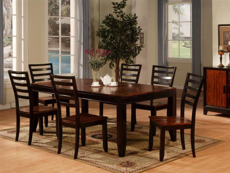 Cardis 850 Table 6 Chairs Dining Table Black Dining Room Chairs Furniture
