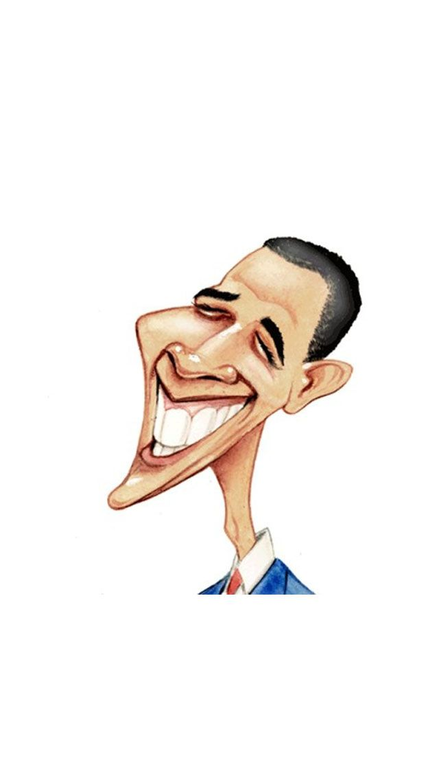 Barack Obama Caricature Iphone 5 Wallpaper Iphone Wallpaper Iphone Wallpapers Obama Cartoon Obama Funny Iphone Wallpaper
