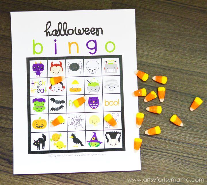 Free Printable Halloween BINGO | Halloween bingo, Halloween parties ...