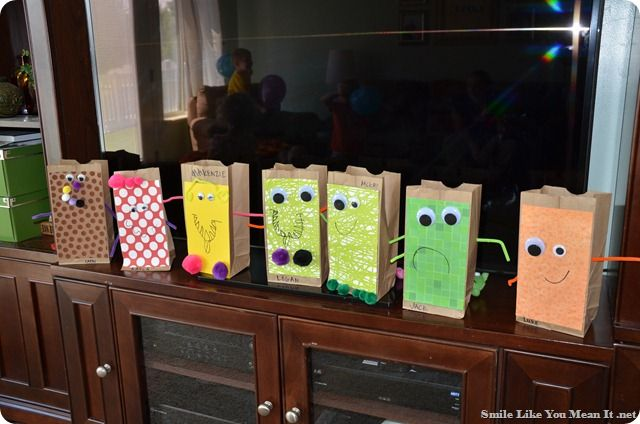 Brown Paper Bag Decorating For Kids Google Search Monster