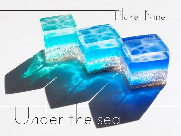 作り方 レジン 海 簡単!海塗りレジン(水面模様・波紋)のコツをご紹介!海のかけらの作り方