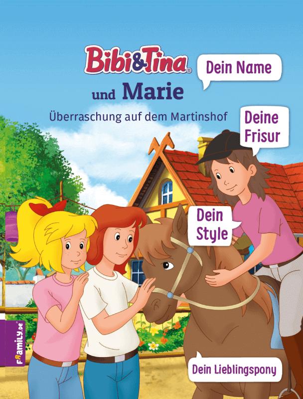 Personalisiertes Kinderbuch Bibi Und Tina Framily In 2020 Bibi Und Tina Personalisierte Kinderbucher Kinderbucher
