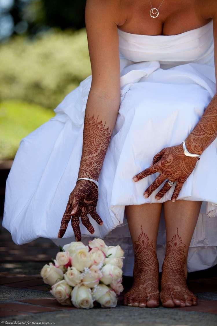 White Wedding In Sonoma County Mehndi Lookbook Henna Bridal