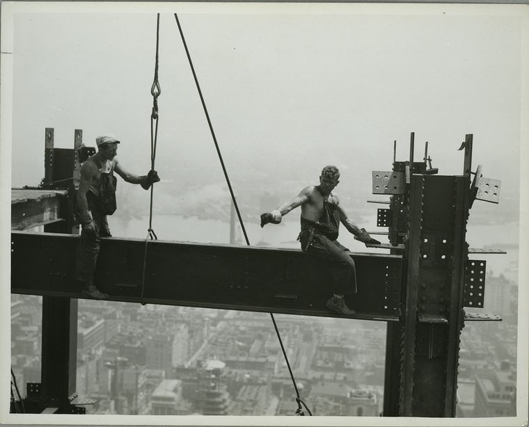 24 Impresionantes Fotografías De La Construcción Del Edificio Empire State