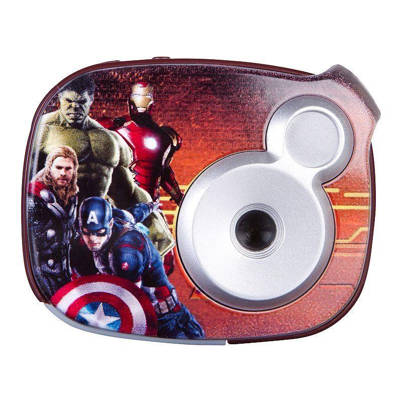 Marvel Avengers 2.1MP Digital Camera by Sakar, Multicolor