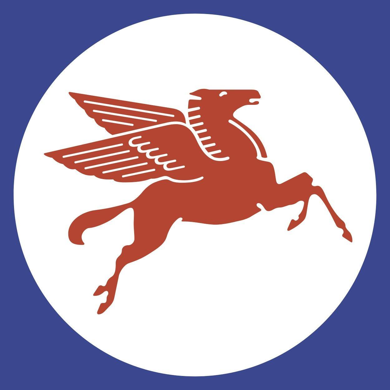 Mobil Pegasus Or Flying Red Horse Logo Originally Part Of
