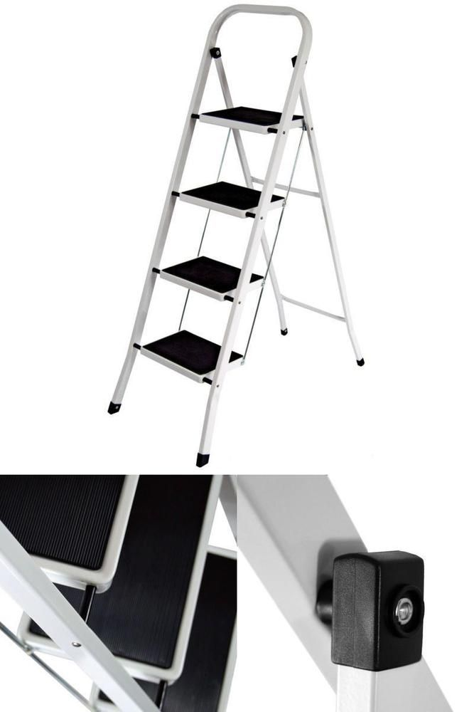 Best Step Ladder Home Steel 4 Steps Folding Portable With 400 x 300