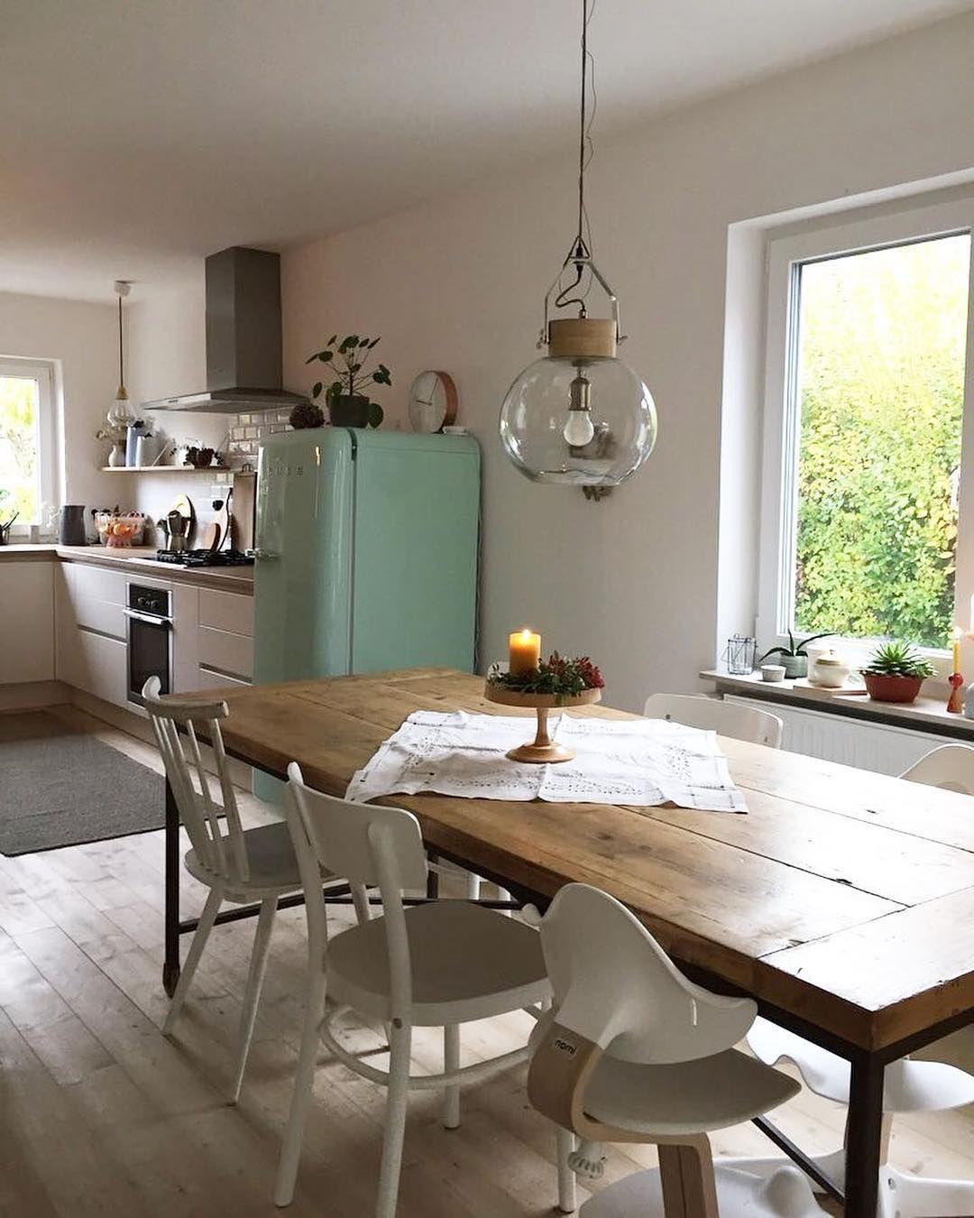 Beeindruckendes Küchendesign | Esstisch, Lampe esstisch ...