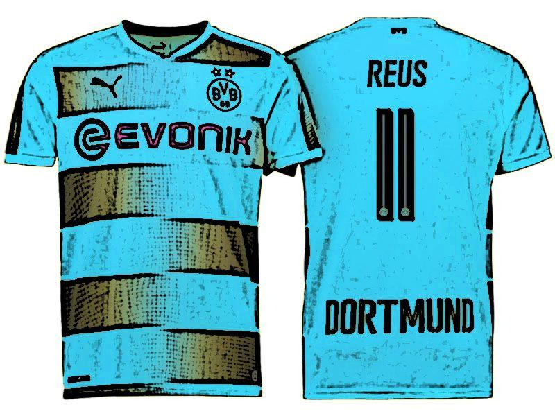 sale retailer 732aa c96aa BVB Jersey Shirt For Cheap marco reus Home 17-18 Kit | Cheap ...