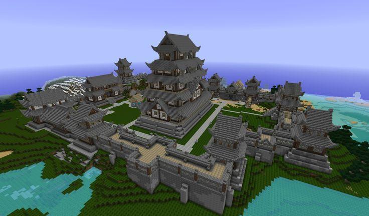 minecraft mountain castle ideas google search