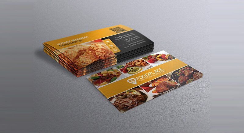 Free restaurant business card template business card pinterest free restaurant business card template reheart Gallery