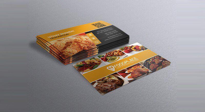 Free restaurant business card template business card pinterest free restaurant business card template colourmoves