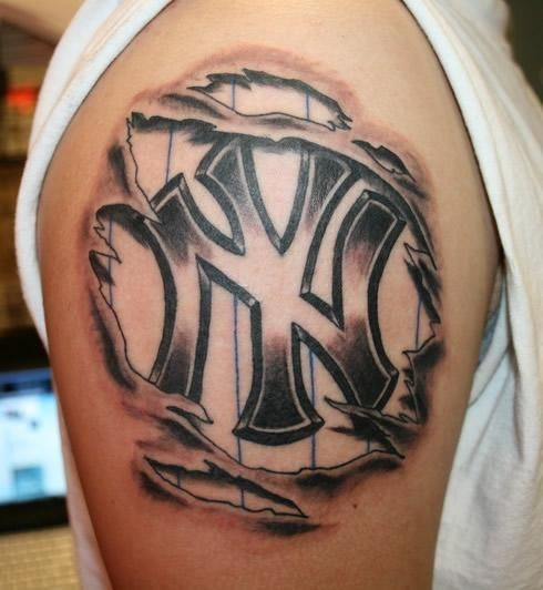 Watch online free yankees tattoo ideas if ever tattoos for New york yankees tattoo
