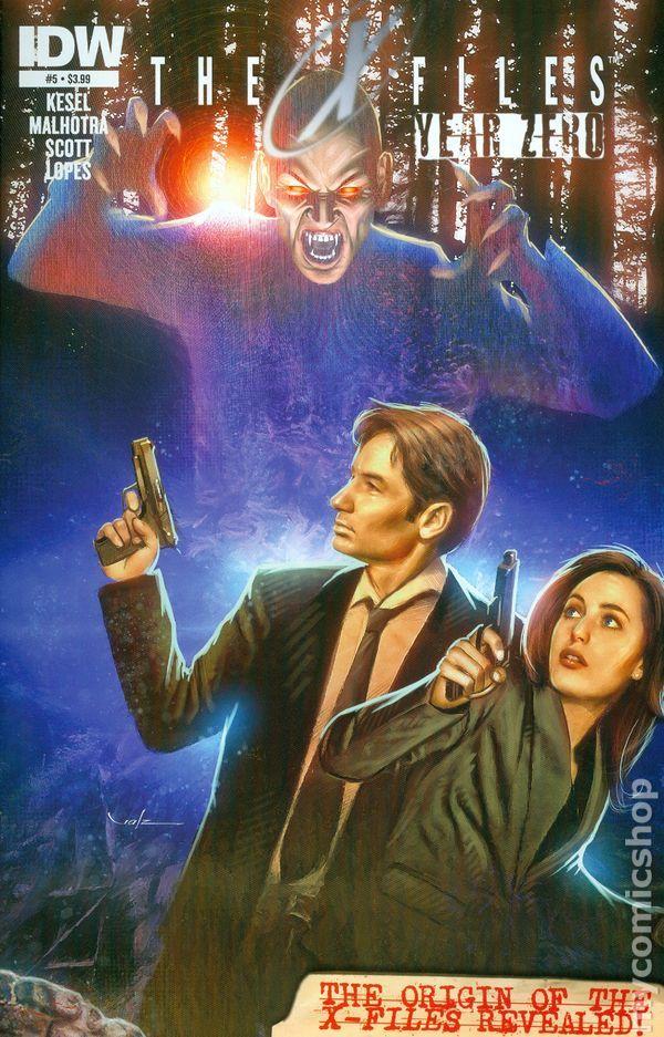 X-Files Year Zero (2014 IDW) 5