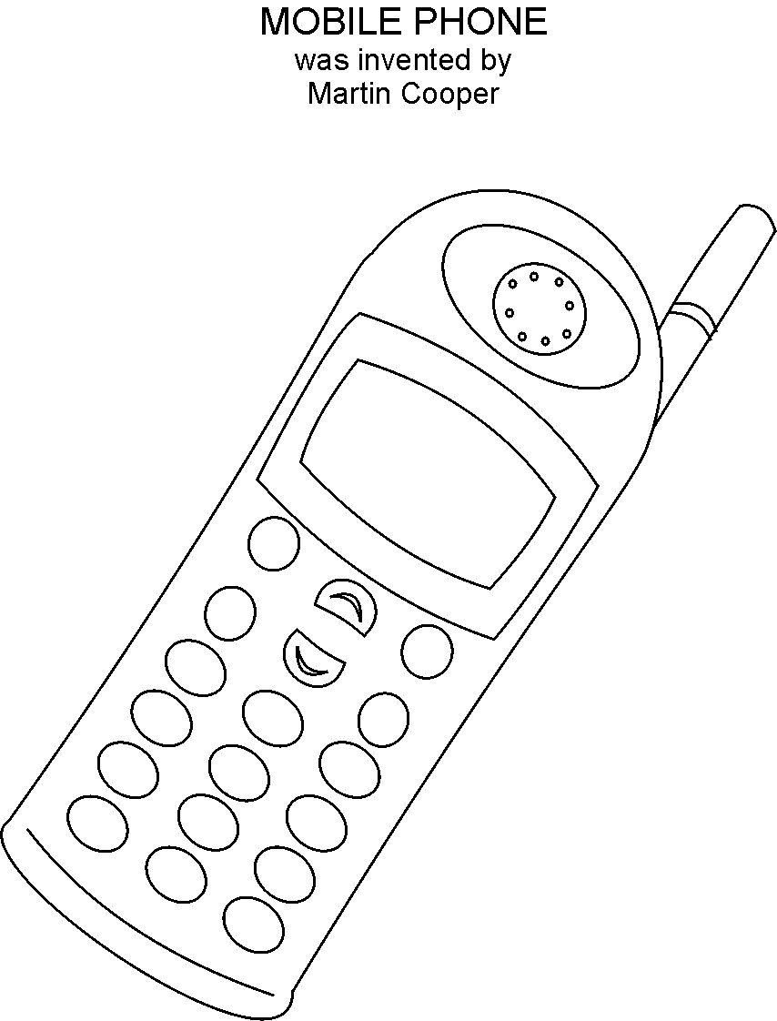Mobile Phone Coloring Printable Mobile Phone Coloring Printable Coloring Pages Free Coloring Pages Free Coloring