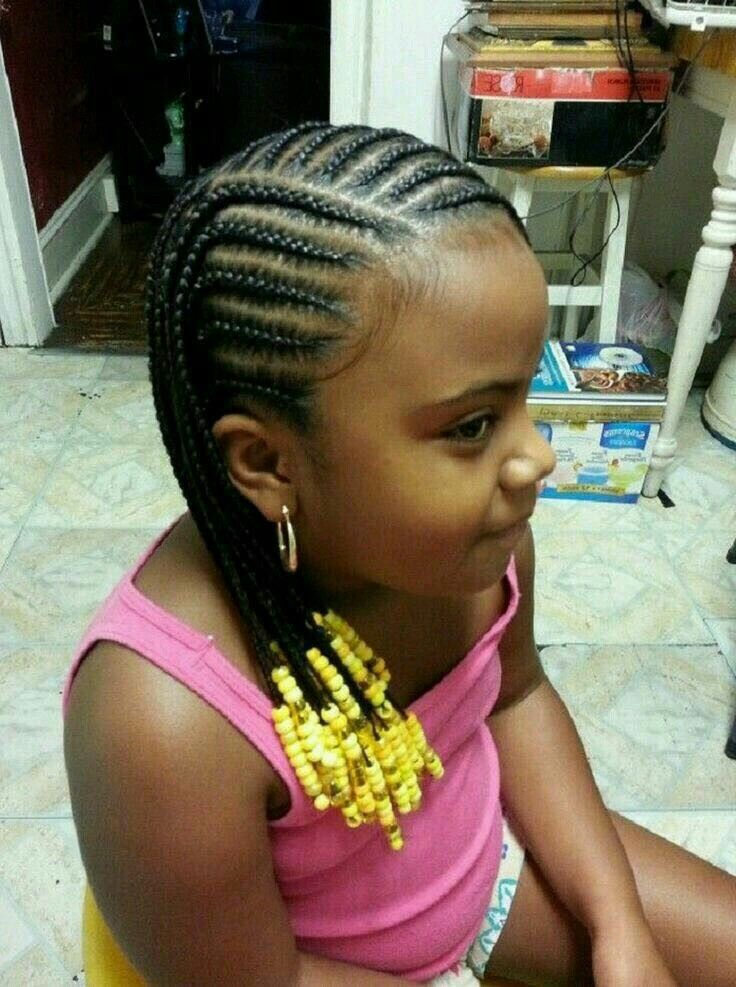 Best In The West Girls Cornrow Hairstyles Little Girls Natural