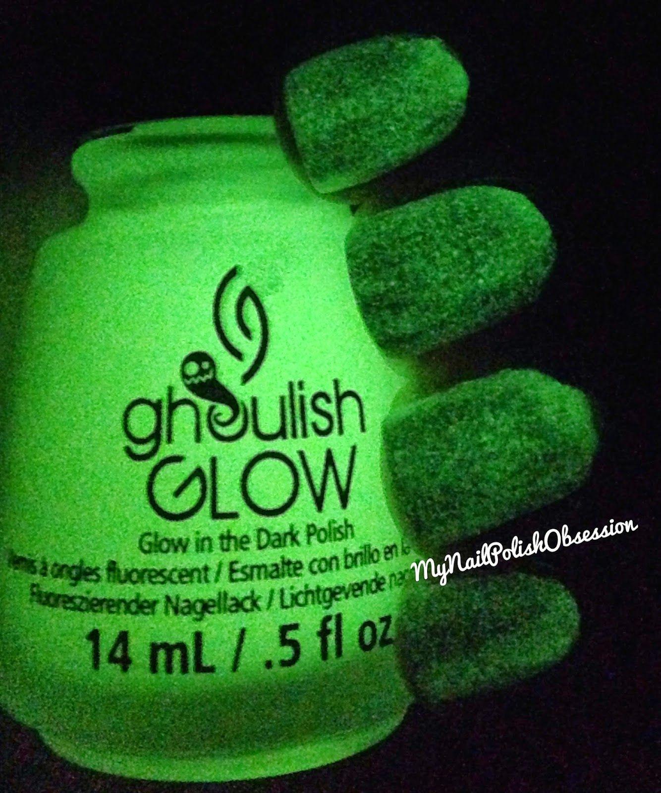 China Glaze Ghoulish Glow | 2012-2014 My Nail Polish Obsession ...