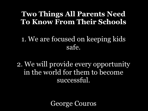 Two Things All Parents Need To Know From Their Schools – The Principal of Change