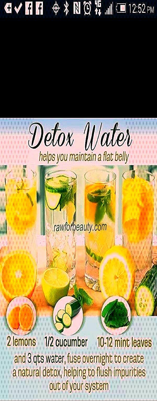 #maintain #fitness #trusper #recipe #health #detox #belly #water #helps #flat #a ????detox water rec...