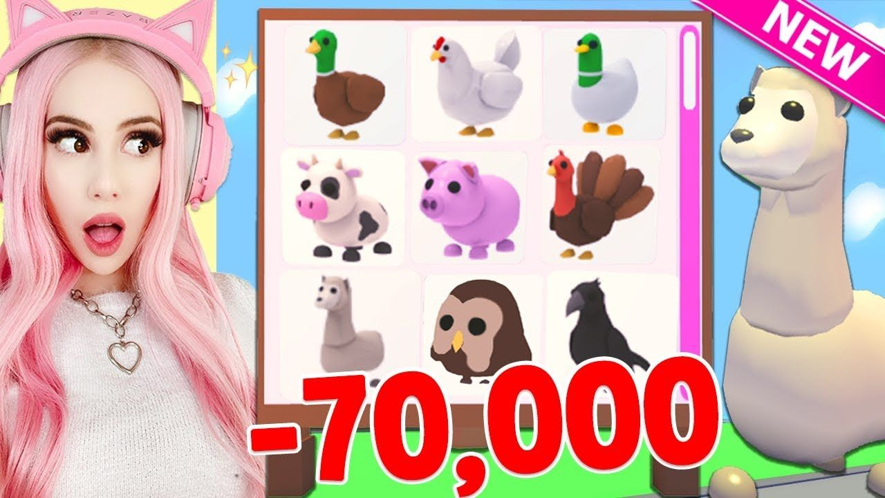 I Spent 70 000 Robux To Get All The New Farm Pets In Adopt Me Brand New Farm Egg Update Adopt Me Youtube Adoption Farm Eggs Pets