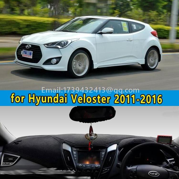 Car Dashmats Car Styling Accessories Dashboard Cover For Hyundai Veloster 2011 2012 2013 2014 2015 2016 Hyundai Veloster Dashboard Covers Interior Accessories