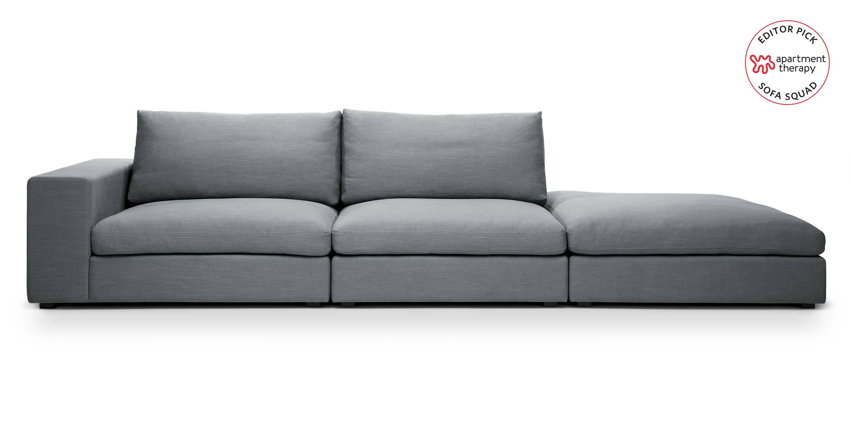 We Saw We Sat We Reviewed The Most Comfortable Sofas At Article