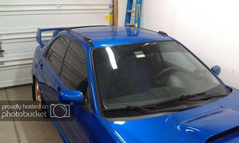 Exterior Prorack Whispbar Roof Rack Installed On 06 Sti Using Rain Gutter Brackets Subaru Impreza Wrx Sti Forums Iwsti C Roof Rack Rain Gutters Installation