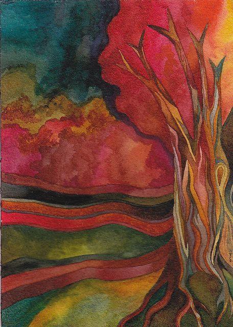 Autumn Sky by Megan Noel