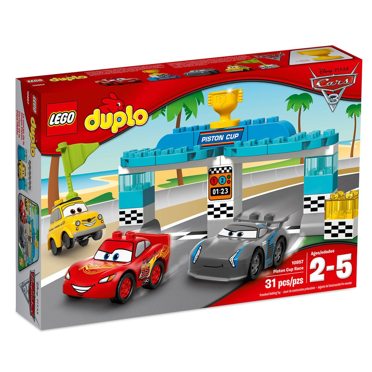 Piston Cup Race LEGO Duplo Playset Cars 3 (With images