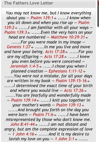 The Fathers Love Letter  My Life  My Prayer Journal